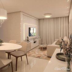 Home Room Design, Living Room Designs, Living Room Decor, Small Apartment Interior, Contemporary Home Decor, Luxurious Bedrooms, House Rooms, Interior Design, Neutral Colors