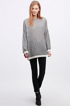Pins & Needles Slubby Stich Jumper - Urban Outfitters