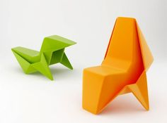 纸折的椅子?-X2创意@空间