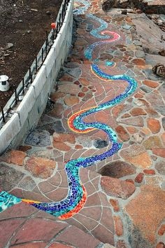 Mosaic Walkways - Bing images