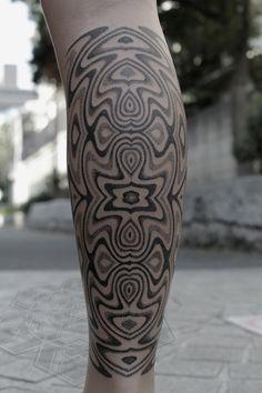 Pattern tattoo