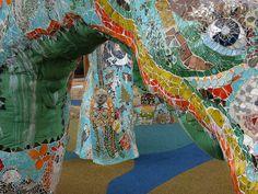 Dragon Mosaic Sculpture--Close up  Pedro P Silva  Photo by jbparker, via Flickr