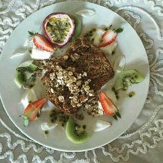 What a #beautiful and #healthy way to begin my day. Just perfect! follow http://ift.tt/1rtfGy9