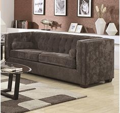 Looking for Alexis Chesterfield Sofa Track Arms Charcoal ? Check out our picks for the Alexis Chesterfield Sofa Track Arms Charcoal from the popular stores - all in one. Tufted Sofa, Loveseat Sofa, Sofa Set, Chesterfield Sofas, Couches, Sectional Sofas, Sofa Chair, Living Room Sofa, Living Room Furniture