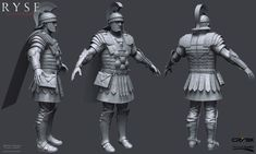 http://www.zbrushcentral.com/showthread.php?185615-Ryse-Son-of-Rome-Character-Art