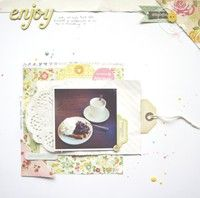 A Project by ScatteredConfetti from our Scrapbooking Gallery originally submitted 09/30/13 at 06:53 AM
