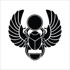Items similar to Khepri Scarab Beetle Ancient Egypt Vinyl Decal / Sticker Pack on Etsy Scarab Beetle Tattoo, Egyptian Tattoo Sleeve, Ancient Egyptian Religion, Anubis Tattoo, Egypt Art, Desenho Tattoo, Sleeve Tattoos, Design Art, Tattoo Designs