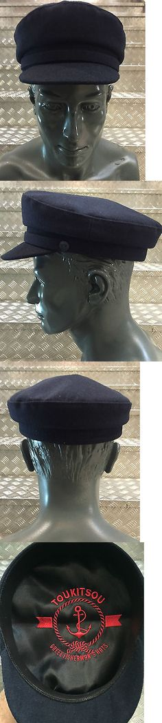 a65dac123f7cf Mens Hats 163619  Greek Fisherman S Hat Pharrell Cap Blue 100% Greek Wool  Tailor Made Since 1960 -  BUY IT NOW ONLY   55 on eBay!