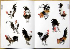 chinese brush painting book - Buscar con Google