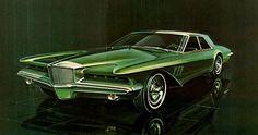 Virgil Exner Design Proposal For Duesenberg - 1964