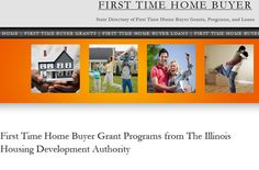 If you're looking to buy your first home in Illinois, we have all the contact information for every grant program available to IL residents. There's federal, state and local grant money available to help with the down payment and closing costs. Simply click the image above to visit the website.