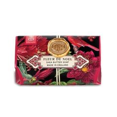 Michel Design Works - Fleur de Noel Large Bath Soap Bar  #christmas #soap