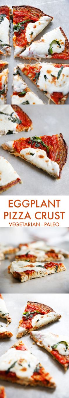 Paleo Eggplant Pizza Crust - Lexi's Clean Kitchen