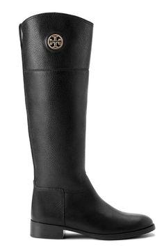 Tory Burch Junction Boot (Step Logo Black)