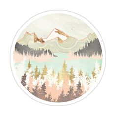 Winter Bay Sticker by spacefrogdesign
