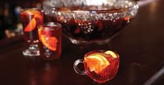 NEGRONI SBAGLIATO (serves 18 cups?)  ~1 (750-mL) bottle Sweet Vermouth  ~1 (750-mL) bottle Campari  ~About 1 cup Assorted seasonal fruit, sliced  ~1 (750-mL) bottle Prosecco  >Garnish: grated Cinnamon