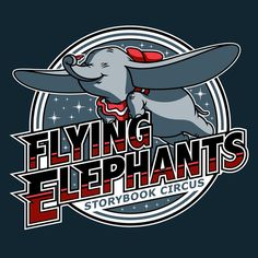 Walt Disney World Teams : Dumbo : Fans will have the chance to choose their favorite teams inspired by Disney Parks attractions.