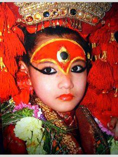 The Living Goddess-Kumari