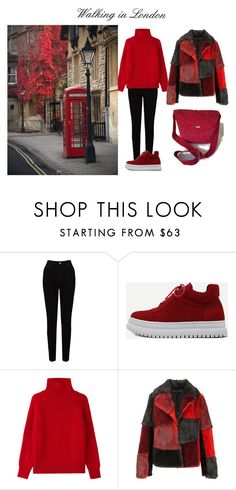 """""""Walking in London"""" by mariliart on Polyvore featuring EAST, WithChic, Vanessa Bruno and Jocelyn"""