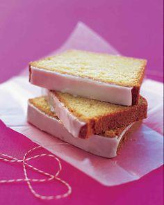 Glazed Lemon Pound Cake | Martha Stewart Living - Lemon zest and juice add brightness to every bite of this buttery pound cake.
