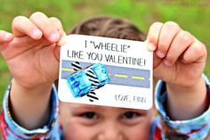 """I """"Wheelie"""" Like You Valentine by Taylormade for C.R.A.F.T."""