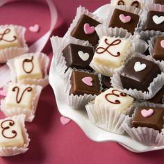 Valentine's Day themed chocolates!