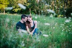 E-session ideas, couple photoshoot poses - Kelly and Chris Sweet and Dreamy with an Edge E-session