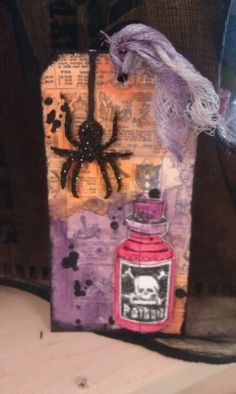 Make n Take Tag - Everything Scrapbook and Stamps ::Come on in Friday between 5:39 and 7:30pm and make this tag fir just $3.  It should take about 20 minutes to make.  We will be using some new stamps by Tim Holtz and one of his new layering stencils.