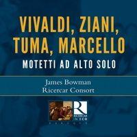 🎼カウンターテナーによる、アルト独唱のための18世紀教会音楽さまざま  👤ジェイムズ・ボウマン  ●リチェルカール・コンソート Tumi