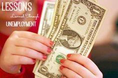 Lessons learned from our year of unemployment.   This mom of five shares her perspective, what she learned, and steps they are taking to financially..