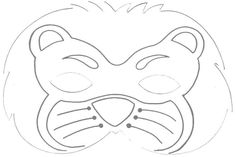 www.walkaboutcrafts.com crafttopics worksheets template_lion.htm