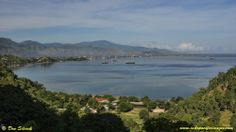 East Timor - the view of Dili from Cape Fatucama.  It's a beautiful country with some great diving!  Check out: http://www.indopacificimages.com/index.php/timor-leste/diving-timor-leste-location-overview-history/