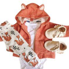 Baby Fox Suit