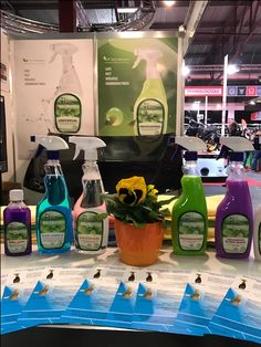 Pearl Waterless products in action at Latvia Motor Show 2017