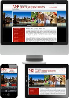 New York Family Law Attorney Website Design - MKB Law Group - Check out our newest portfolio designs at http://firstpageattorney.com/web-design-portfolio/