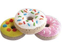 Knit Donut Rattles