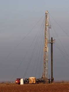 Oil Drilling Rig, Hennessey, Oklahoma