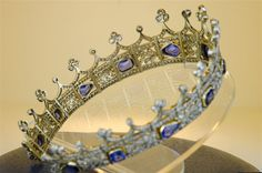 Circlet of Queen Victoria that was passed onto Princess Mary.