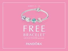Join us at Atlanta West Jewelry TOMORROW (3/23) for a special in-store #PANDORA Spring Bracelet Event we know you'll love!