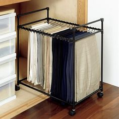 May 2016 … These insanely clever bedroom storage hacks and solutions will make your tiny room feel like an organized palace. Storage Ideas for a Cluttered Lady Bedroom Small Room Organization, Wardrobe Organisation, Wardrobe Storage, Wardrobe Room, Wardrobe Cabinets, Closet Bedroom, Small Bedroom Storage, Bathroom Storage Solutions, Build A Closet