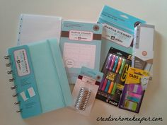 Planner kit! Lately I have been OBSESSED with planners!