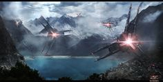 The Sentinels by Sebastien Hue | Matte Painting | 2D | CGSociety