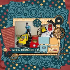 Lorien's workshop: Indicando Kits: Hey, Robot! By Scrappiness Designs