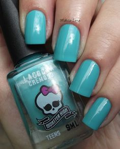 Esmaltes Monster High - Swatches ( idea to give as party favor)