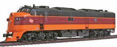 Hiawatha : Y Milwaukee Road, Diesel Locomotive, Trains, Transportation, Train