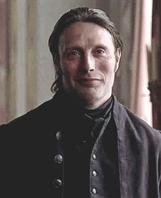 Mads Mikkelsen (that look makes me giggle like a school girl XD)