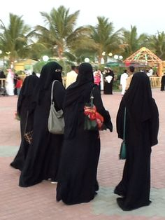 Ladies day out in Yanbu (Yanbu' al Bahr, also known simply as Yanbu, Yambo or Yenbo, is a major Red Sea port in the Al Madinah province of western Saudi Arabia.)