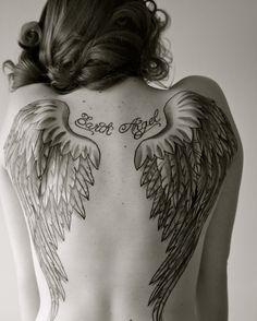 Significado das tatuagens de asasAnunciAD - Divulgação de Fan Page