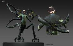 ArtStation - Spiderman concepts, Daryl Mandryk Marvel Comic Character, Marvel Characters, Character Art, Character Design, Marvel Villains, Marvel Heroes, Comic Books Art, Comic Art, Live Action