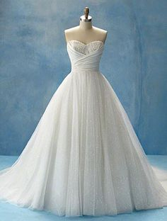 You would look amazing in this, Stefanie! And it would keep the beautiful full skirt idea from your original wedding.